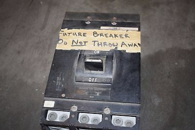 Square D MAP36800 800 Amp 600MaxVAC Circuit Breaker Thermal Magnetic