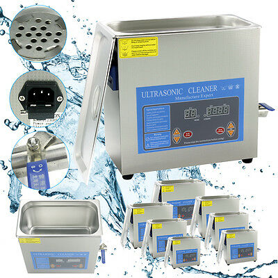 2/3/6/15/30L Ultraschall Reiniger Ultraschallreinigungsgerät Ultrasonic Cleaner