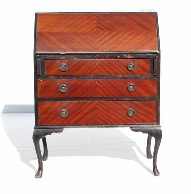 Vintage Retro Writing Bureau with 3 Drawers