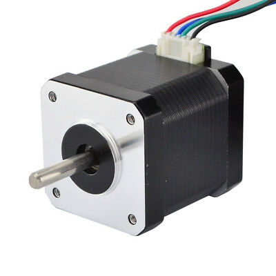 Nema 17 Stepper Motor Bipolar 1.68A 45Ncm(64oz.in)4 Wires DIY CNC 3D Printer