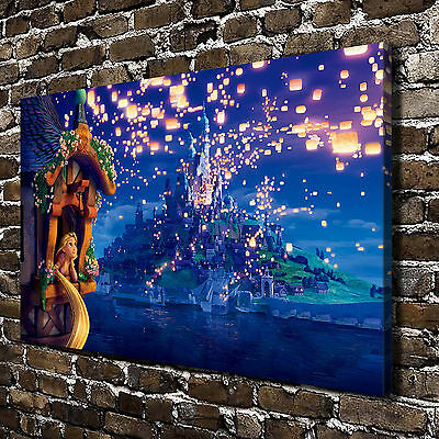 Disney Tangled Paintings HD Print on Canvas Home Decor Wall Art Pictures Posters