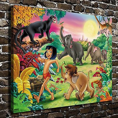 Disney The Jungle Book Paintings HD Print on Canvas Home Decor Wall Art pictures