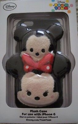 New Disney Mickey and Minnie Mouse Tsum Tsum Iphone 6 Plush Case