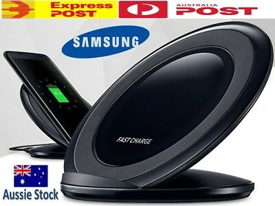 GENUINE Samsung FAST Charge Wireless QI Charger For S8 S7 S6 Edge Note 8 Stand