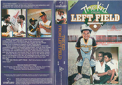 The Kid From Left Field Gary Coleman Robert Guillaume Tab Hunter Pal Vhs Video