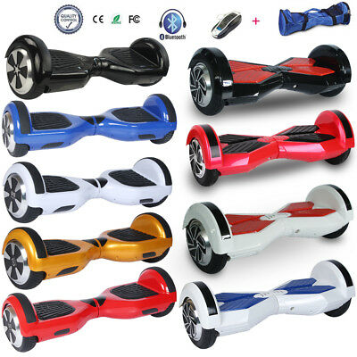 6.5/8 Inches Self Balancing Scooter Electric Balance Board Bluetooth 2 Wheels
