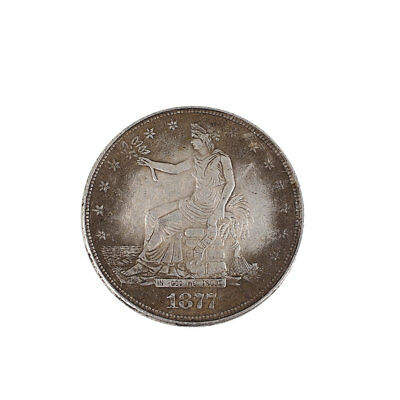 1877 American Dollar Coin Evil Repellent Safeguard Gather Wealth United State
