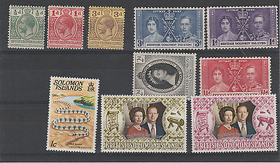 ILES SALOMON lot 1