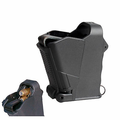 Pistol Magazine Universal Speed Loader Airsoft 9mm to .45ACP .357 With Unloader