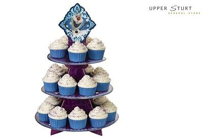 Disney Frozen Cupcake Stand Holds 24 Cupcakes Party Supplies FREE DELIVERY