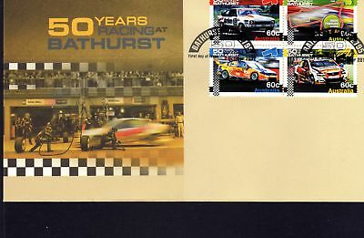 Bathurst 50 Years First Day Cover