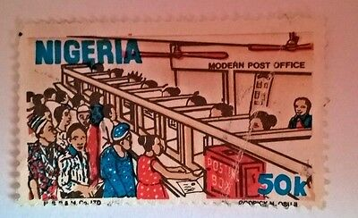Nigeria stamp - Modern Post Office - your choice - free P & P