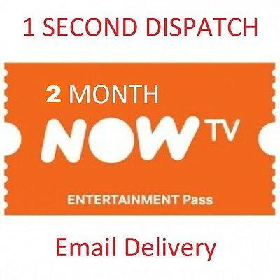 NOW T.V 2 Month Entertainment Pass (IN TIME FOR CHRISTMAS) BUY NOW!