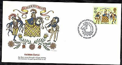 Great Britain 4 First Day Covers 1981 Folklore