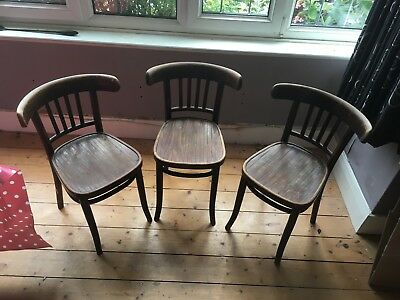 Three Chairs 1940's or 1950's.