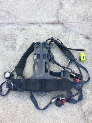 Survivair PANTHER/SIGMA LOW PRESSURE SCBA Back Pack NFPA 1997 ED COMPASS