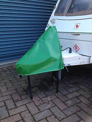 NEW GREEN  PVC Waterproof Universal Caravan Towing Hitch Cover- FREE Delivery