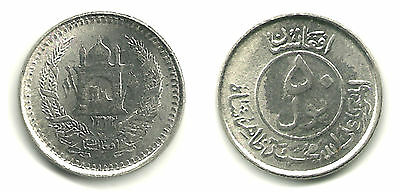 AFGHANISTAN - Mohammed Zahir (1933-1973) 50 Pul, 1953 - KM-946