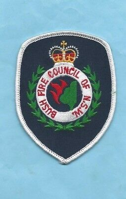(Very Rare) BUSH FIRE COUNCIL OF N.S.W. Patch (New South Wales)