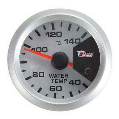 "7 color Motor Shift 2"" 52mm LED Thermometer Water Temperature Meter Gauge Q5S3"