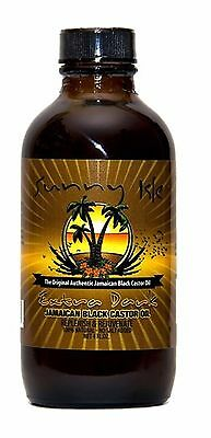 Jamaican Black Castor Oil  Extra Dark  SUNNY ISLE- 4oz ******FREE DELIVERY******