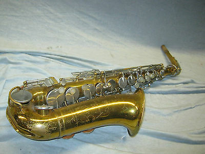 1967 KING CLEVELAND 613 ALT / ALTO SAX / SAXOFON -- made in USA