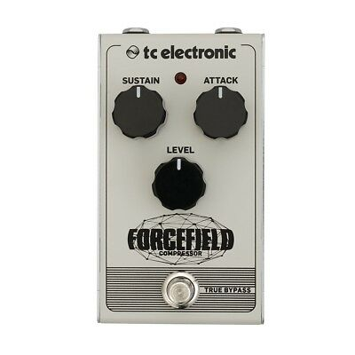 TC Electronic ForceField Compressor FX Pedal Brand New