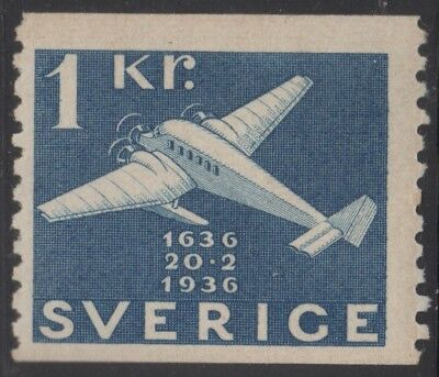 Sweden 1936 300 Years 1 Kr, mh