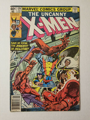Uncanny X-Men #129 (Jan 1980, Marvel) 1ST APP OF KITTY PYDE Very Good VG KEY