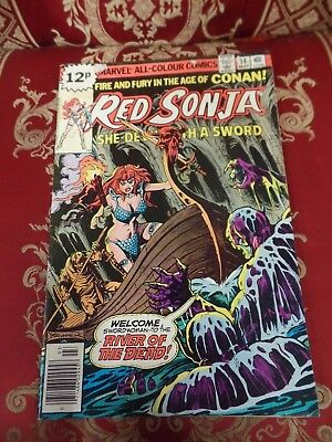 Red Sonja #14 March 1979 Bagged Marvel Comic