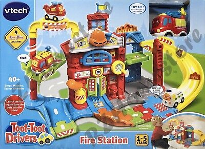 Vtech Toot-Toot Drivers Fire Station Educational Children's Toy