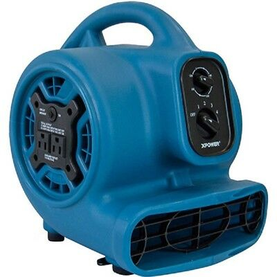 NEW! XPOWER Freshen Aire Mini Scented Air Mover W/ 3-Hour Timer-4 Speeds-800CFM!