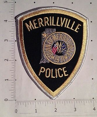 Merrillville Police Patch - Indiana