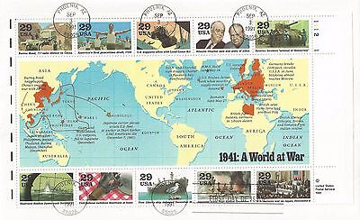 World at War First Day of Issue 1941-1945