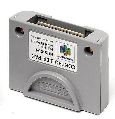Controller PAK / Memory Card for Nintendo 64 N64 Official Nintendo - AUS SELLER