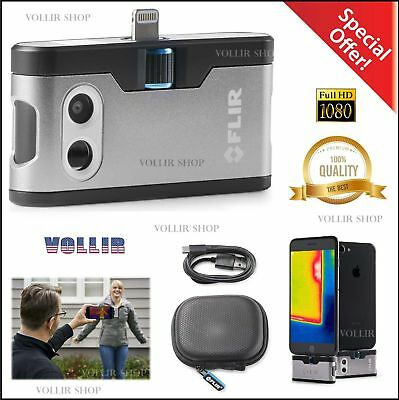 FLIR ONE Thermal Imaging Camera Compatible with iPhone 7, iPhone 7 Plus ,IOS NEW