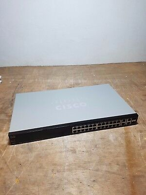 Cisco SF300-24PP 24 Port 24 x 10/100 PoE+ Managed Switch
