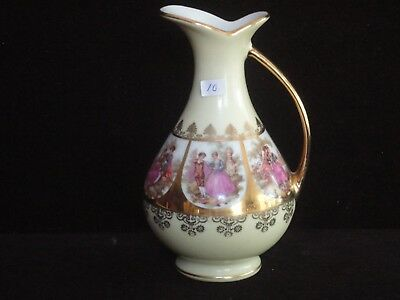 West Germany Love Story Handled Jug **
