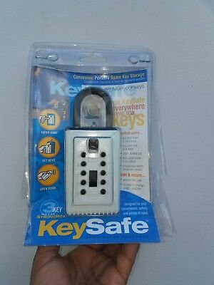 Supra Portable Push Button Key Safe