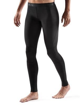 Skins RY400 Women's Fitness Exercise Running Compression Recovery Tights Black