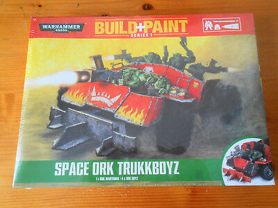 New & Sealed, Space Ork Trukkboyz, Paint & Build Set