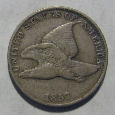1857 Flying Eagle Cent Take a Look