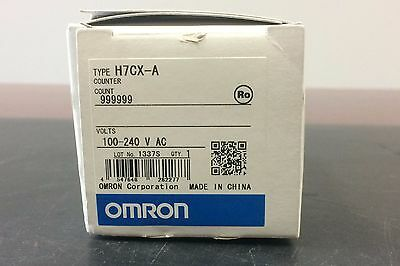 Omron H7CX-A Multifunction Preset Counter 100-240V AC