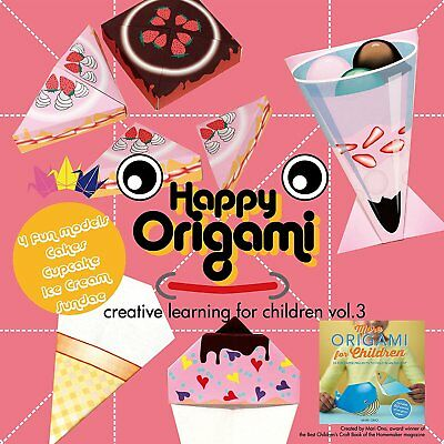 Food Fun Origami Paper Kit for Children