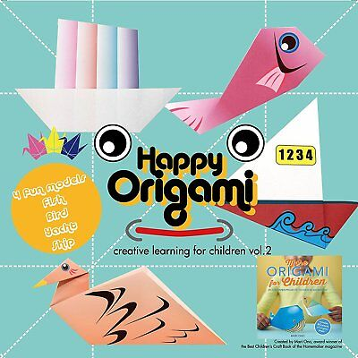 Seaside Fun Origami Paper Kit for Children