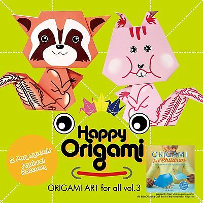 Squirrel Fun Origami Paper Kit for Children