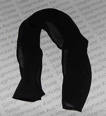 NEW Barbie Basics Collection 001 Look 04 4 Black Doll Scarf Model Muse Loose