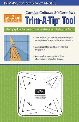 Trim-A-Tip Tool: Fast2Cut Multi-Angled Corner Cutter for Perfect Piecing