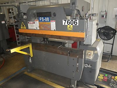 Accurpress Model 7606 Hydraulic 60 ton 480 volt 3 phase Press Brake
