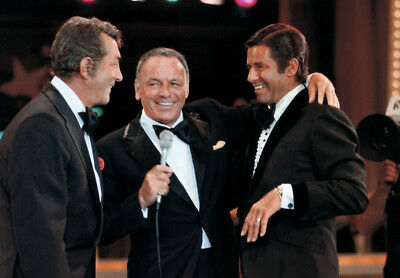 Frank Sinatra, Dean Martin and Jerry Lewis UNSIGNED photo - K3102 - Reunited